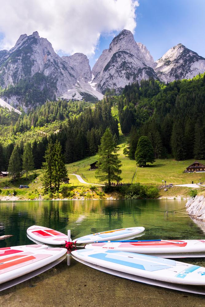 Gosausee v Rakúsku. Foto: Shutterstock